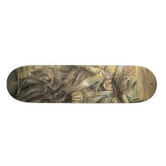 We Will Meet Again Cowboy Skateboard