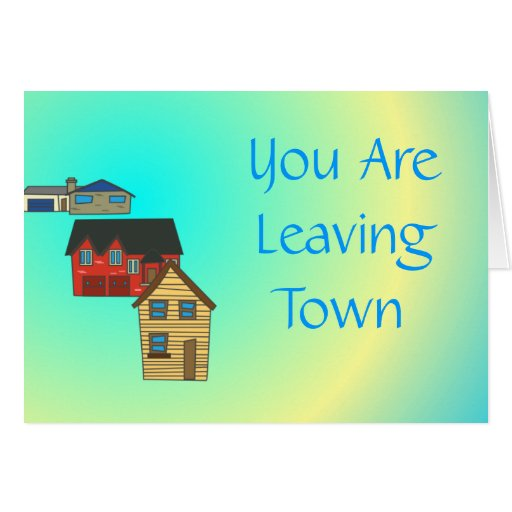 We Will Miss You  >  Farewell Cards