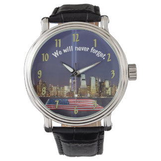 We Will Never Forget 9-11 Tribute Watch