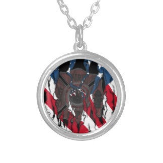 We Will Never Forget Silver Plated Necklace