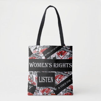 WE WILL NOT BE SILENCED TOTE BAG