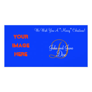 "We Wish You A ""Marry"" Christmas! Personalized Photo Card"