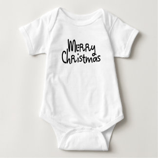We Wish You a Merry Christmas Baby Bodysuit