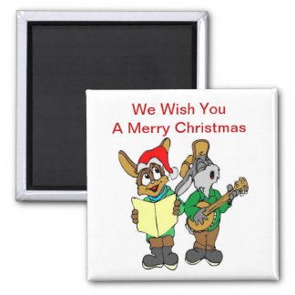 We Wish You - Square Magnet