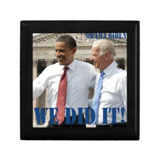 We Won - Obama Wins Jewelry Box
