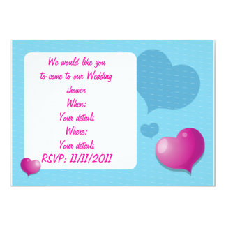 We would like to invite you love heart invitation