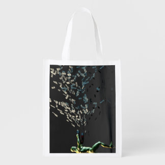 Wealth Management and Financial Planning Reusable Grocery Bag