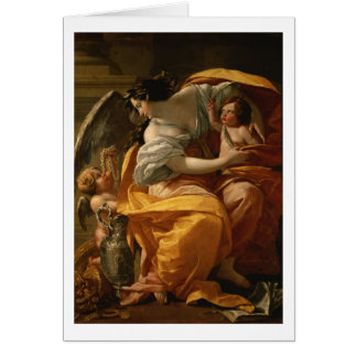 Wealth (oil on canvas) card