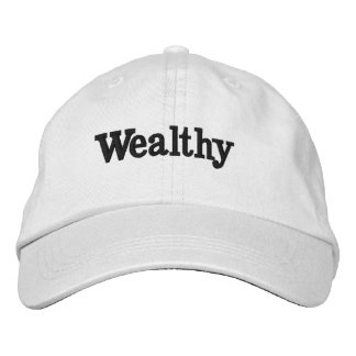 Wealthy IS You Embroidered Hat