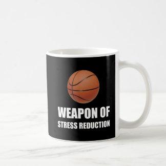 Weapon of Stress Reduction Basketball Coffee Mug