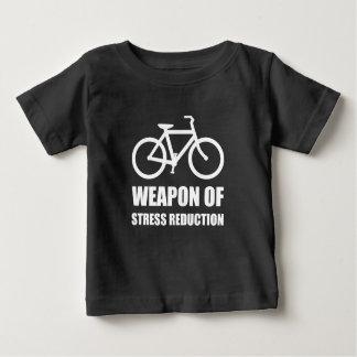 Weapon of Stress Reduction Biking Baby T-Shirt