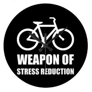 Weapon of Stress Reduction Biking Clock