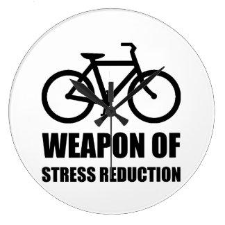 Weapon of Stress Reduction Biking Clocks