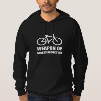 Weapon of Stress Reduction Biking Hoodie