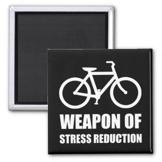 Weapon of Stress Reduction Biking Magnet