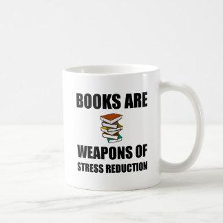 Weapon of Stress Reduction Books Coffee Mug