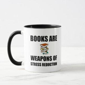Weapon of Stress Reduction Books Mug