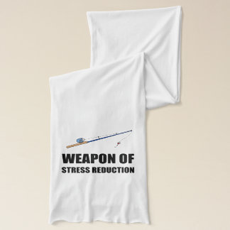 Weapon of Stress Reduction Fishing Scarf