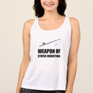 Weapon of Stress Reduction Fishing Singlet