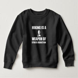 Weapon of Stress Reduction Hiking Sweatshirt