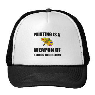 Weapon of Stress Reduction Painting Cap