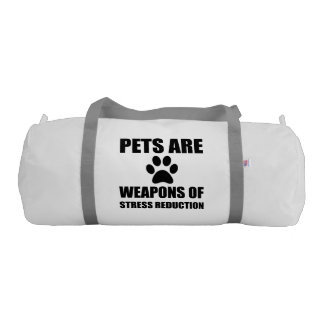 Weapon of Stress Reduction Pets Gym Bag