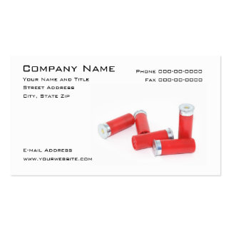 Weapons Dealer Business Card
