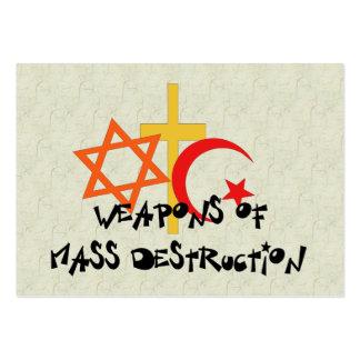 Weapons Of Mass Destruction Business Cards