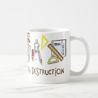 Weapons Of Math Destruction Basic White Mug