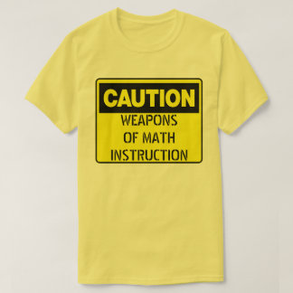 Weapons of Math Instruction T-Shirt
