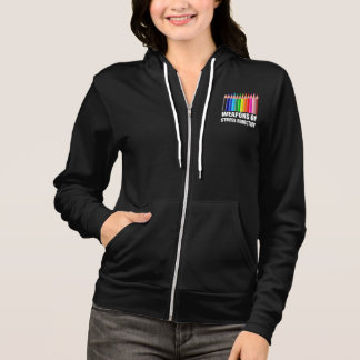 Weapons of Stress Reduction Coloring Hoodie