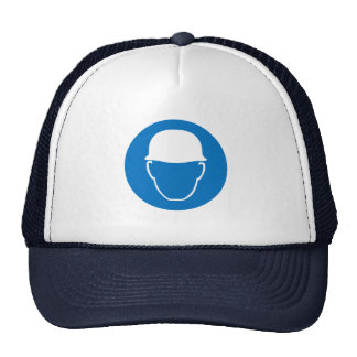 Wear a helmet trucker hat