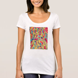 Wear Artistic Things and Be Attractive T-Shirt