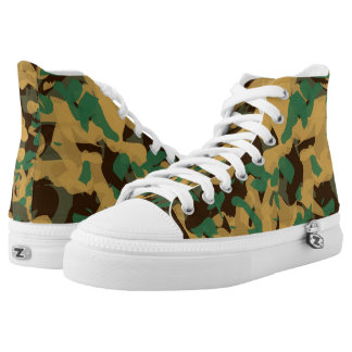 Wear Camo Printed Shoes