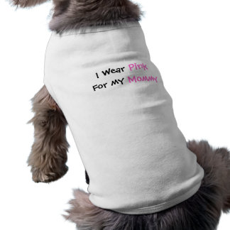 Wear Pink Sleeveless Dog Shirt