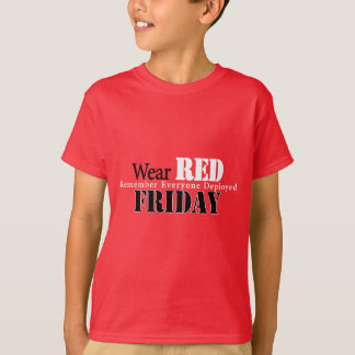 Wear Red on Friday T-Shirt