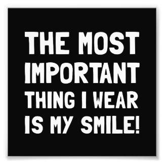 Wear Smile Photo Art