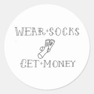 Wear Socks Stickers