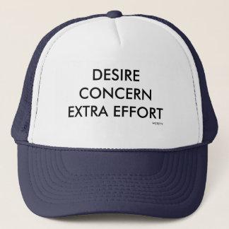 Wear the hat of winners!