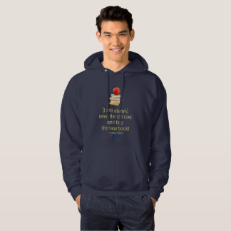 wear the old coat and buy the new book! hoodie