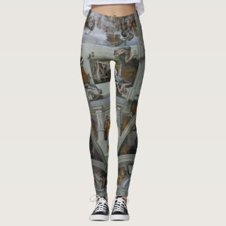 Wearable Art!  Sistine Chapel Ceiling Leggings