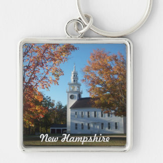 Wearin' New Hampshire Key Ring