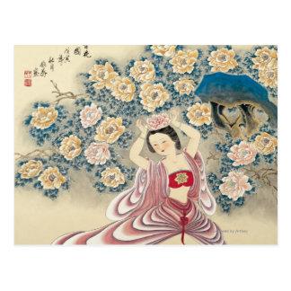 Wearing A Flower in the Head Postcard