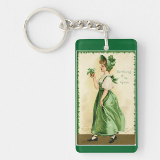 Wearing Of The Green Key Ring