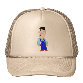 Wearing Overalls On A Sunday Trucker Hats