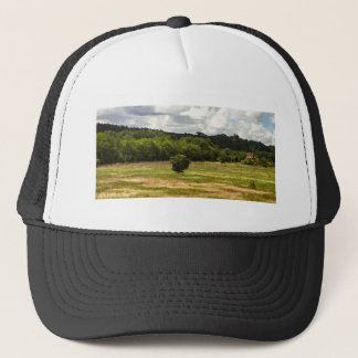 Wearing Tuscany! Trucker Hat