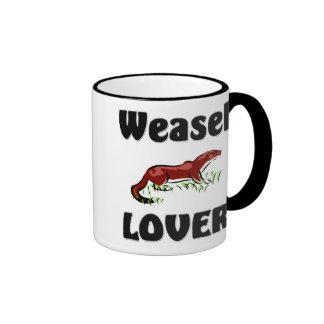Weasel Lover Ringer Mug