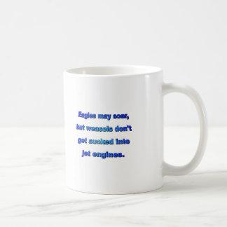 weasels coffee mug