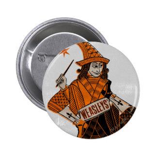 Weasleys' Card Back 6 Cm Round Badge