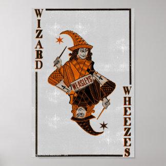 Weasleys' Card Back Poster